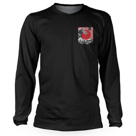 Loose Riders Rising Sun Cult Longsleeve Jersey Heren, red/black